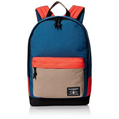 element men's beyond backpack, moroccan blue clay by