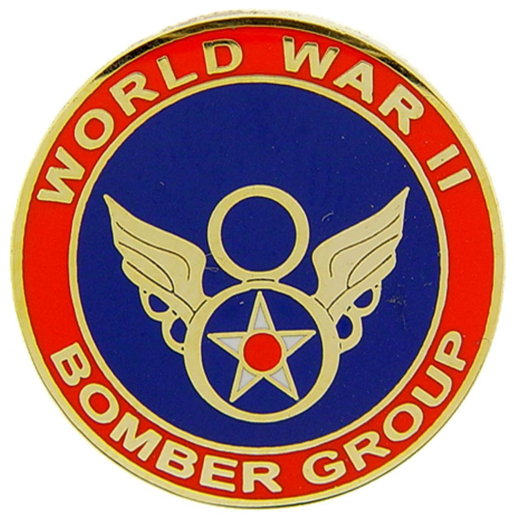 WWII 8th Bomber Group Pin 1""
