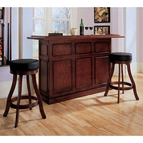 AHB Lexington Bar with 2 Bar Stools