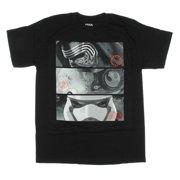 Star Wars Force Awakens Kylo Ren X-Wing Rebel Poe Stormtrooper Mens T-shirt by Mighty Fine