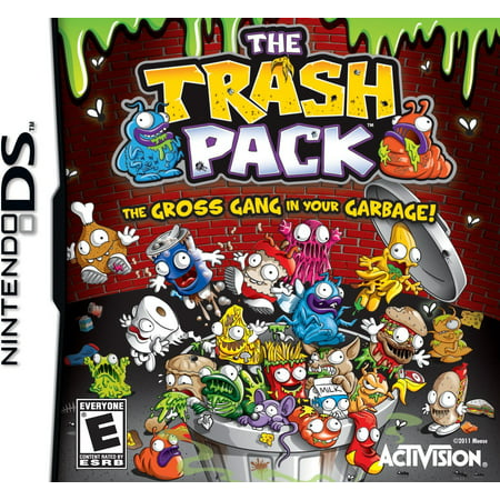 (Nintendo DS) The Trash Pack (Adventure Game) - Halloween Adventure Game