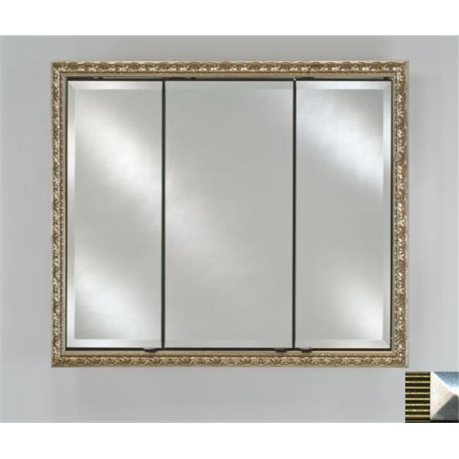 Afina Corporation TD3830RMERGS 38 in.x 30 in.Recessed Triple Door Cabinet - Meridian Gold-Silver - image 1 de 1
