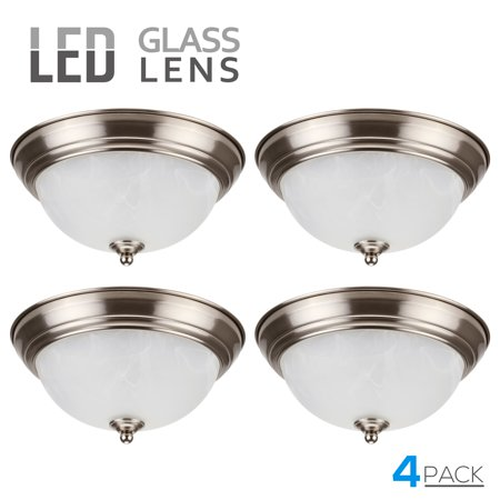 Leonlite 4 Pack 15w 11 Inch Led Ceiling Lights Led Ceiling Fixture Ceiling Lights Clearance