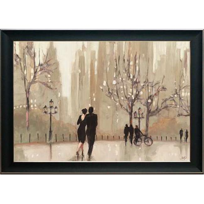 North American Art N2184 13 x 18 in. An Evening Out Framed Art Print