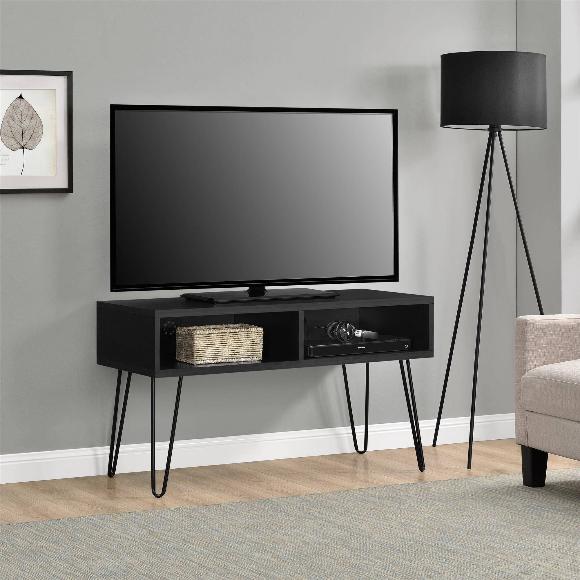 "Mainstays Retro TV Stand for TVs up to 42"", Multiple Colors"