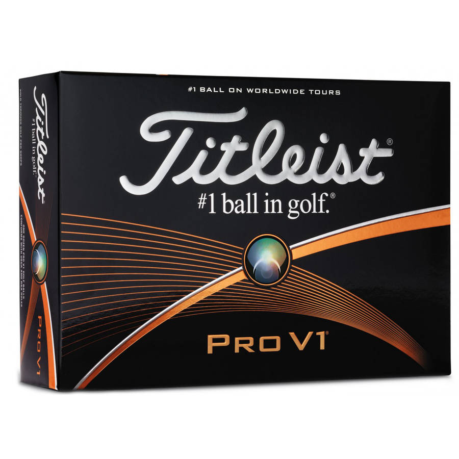 Titleist Pro V1 Golf Balls (12-Ball Pack)