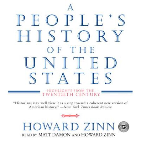 A People's History of the United States CD (Food Fight Festivals In The United States)
