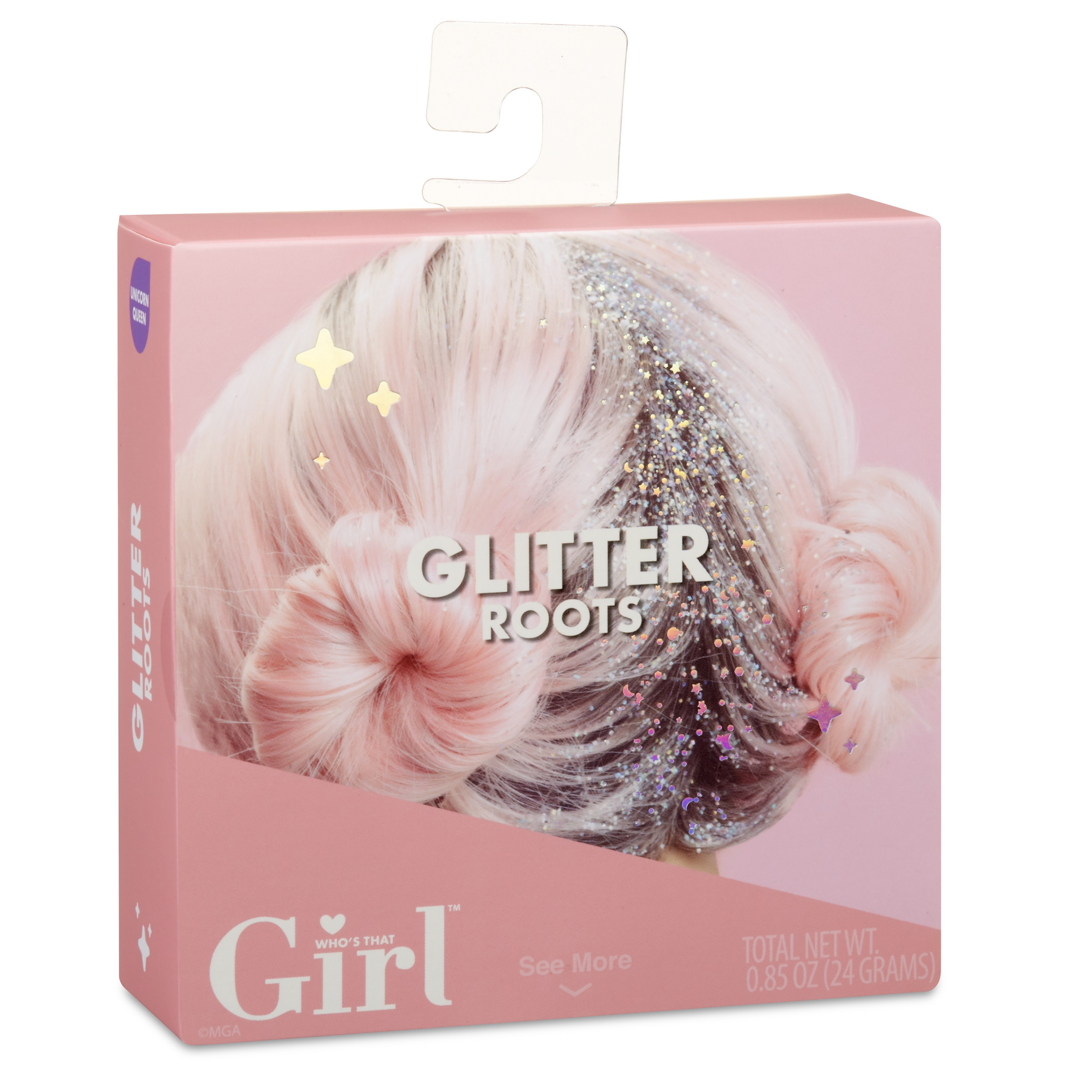 Who's That Girl Glitter Roots- Unicorn Queen