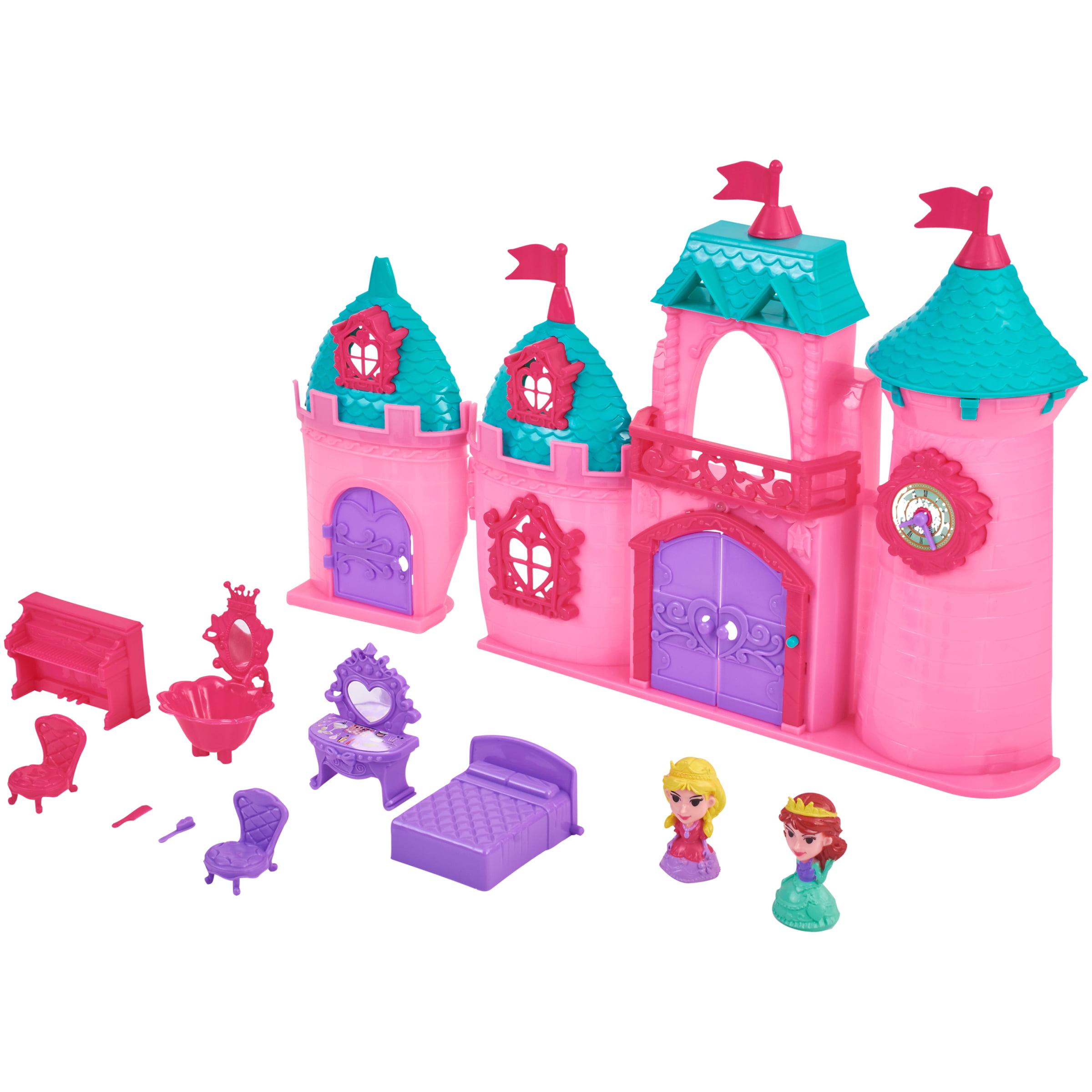 Kid Connection 11-Piece Light & Sound Princess Castle Play Set