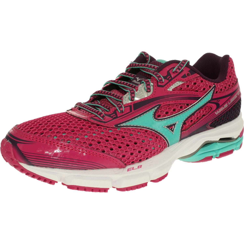 Mizuno Women's Wave Legend 3 Fuchsia / Green Purple Ankle-High Running Shoe - 11M