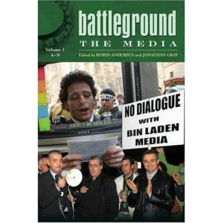Battleground The Media  2 Volumes   Battleground Series  By Robin Andersen