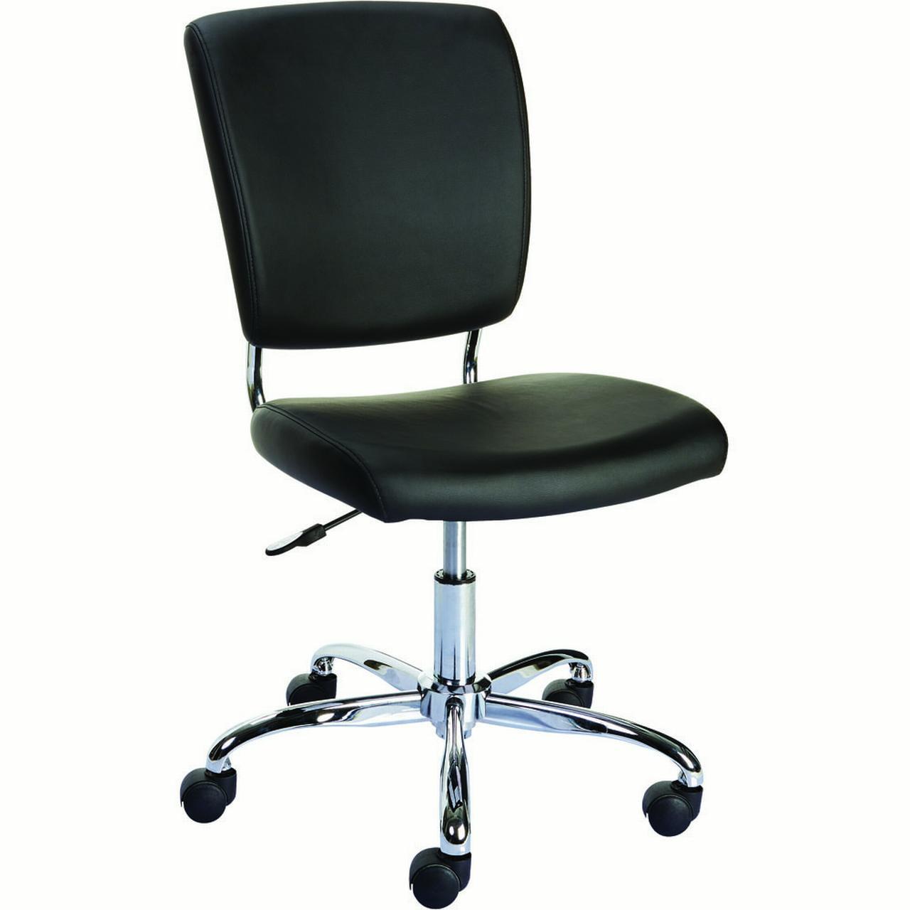 Staples 27373 Nadler Luxura Office Chair Armless Black Walmartcom