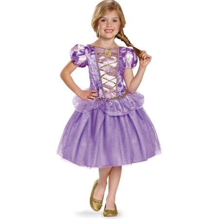 Rapunzel Classic Child Halloween Costume, One Szie, M (7-8)](Tangled Mother Gothel Costume)