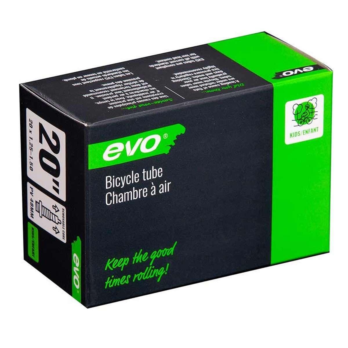 Evo Bicycle Tube - Presta, 48mm, 20', 1.25-1.50 - 14EV.020175-01