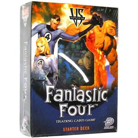 Marvel VS System Trading Card Game Fantastic Four Collectible (Seven Trading Systems For The S&p Futures)