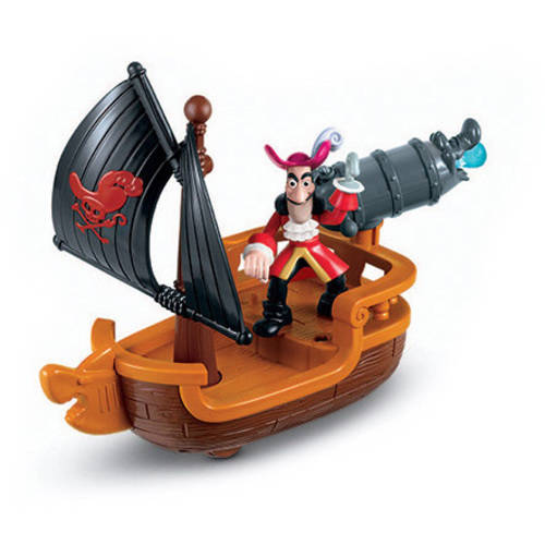 Fisher-Price Jake and the Neverland Pirates - Hook's Battle Boat Play Set
