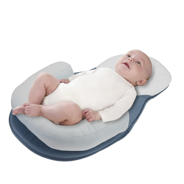 Infant Baby Cot Soft Pillow Prevent Flat Head Memory Foam Cushion Newborn Sleep