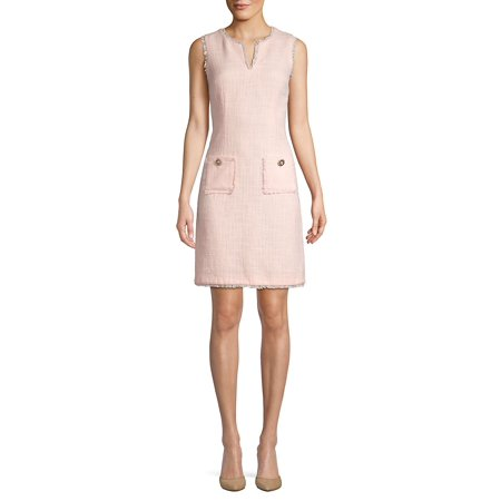 Tweed Shift Dress (Betsey Johnson Womens Dress)