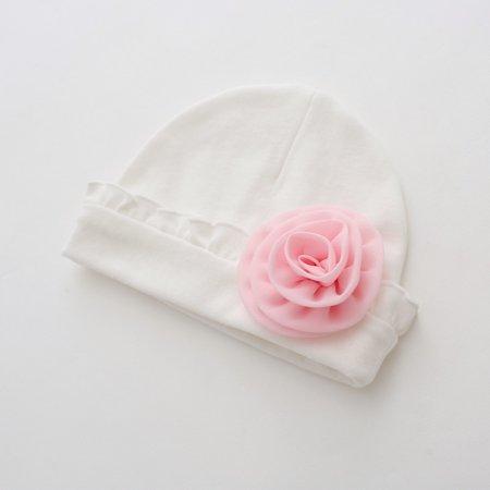 Outtop Newborn Baby Girls Infant Toddler Flower Hat Cotton Soft Hat Cap -  Walmart.com 7ee930293bdd