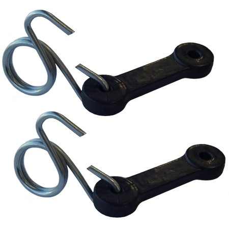 Bagger Gauges - 160793 Set of 2 Tractor Bagger Riding Mower Latch Straps for Craftsman & Others