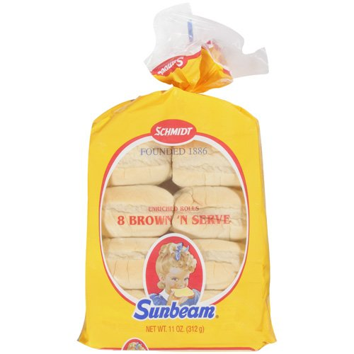 Sunbeam  Brown 'N Serve Rolls, 8 ct, 11 oz