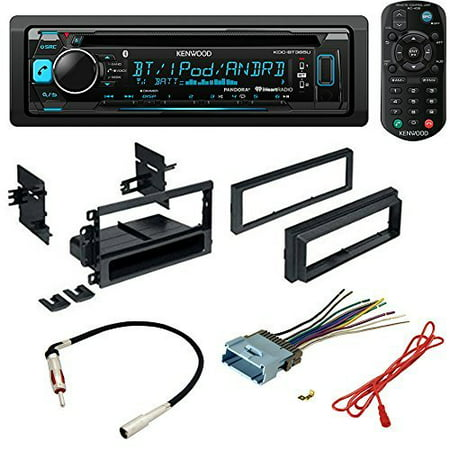 CAR STEREO RADIO CD PLAYER RECEIVER INSTALL MOUNTING KIT RADIO ANTENNA BUICK CADILLAC CHEVROLET GMC HUMMER ISUZU OLDSMOBILE PONTIAC 2000 2001 2002 2003 2004 2005 2006 2007 2008 2009 2010 2011 2012 ()