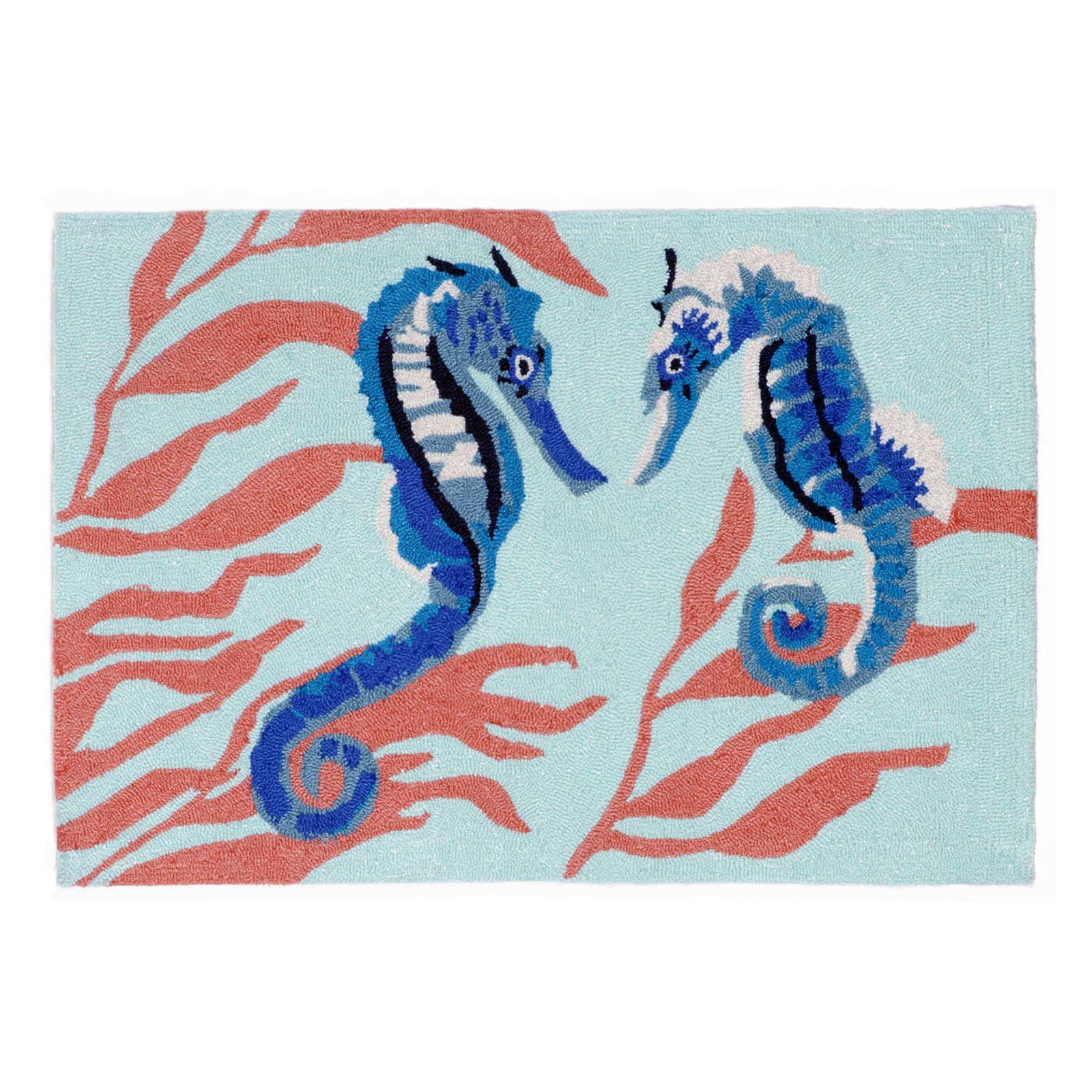 Trans-Ocean Rug Frontporch Seahorse Doormat by Supplier Generic