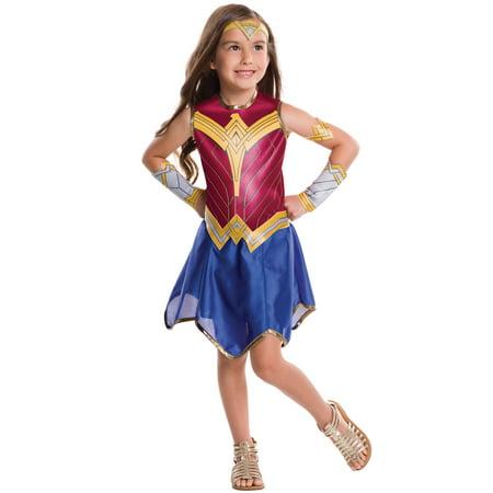 BvS Wonder Woman Child Costume - Wonder Woman Costume For Kids