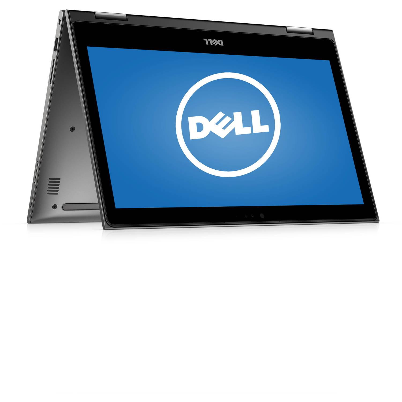"Dell i5368-0027GRY Inspiron 13 5000 13.3"" Laptop, touch screen, 2-in-1, Windows 10 Home, Intel Pentium 4405U Processor, 4GB RAM, 500GB Hard Drive"