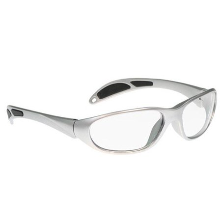 (Gray Maxx Stylish, Lightweight, And Comfortable Wrap-Around Plastic Style Frame - Clear Lenses Are Anti-Reflective)