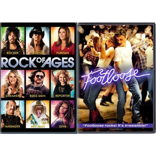 Rock Of Ages / Footloose (2011) (Widescreen)