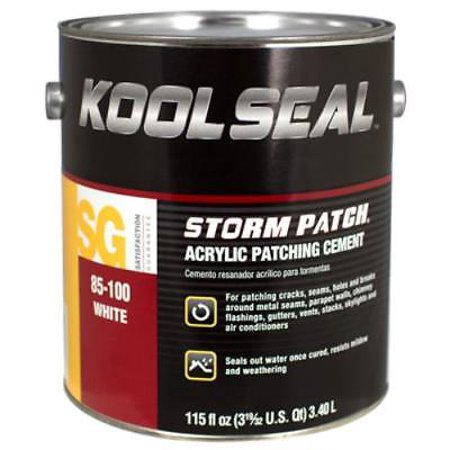 Kool Patch .9 Gallon White Instant Roof Patching Cement ()