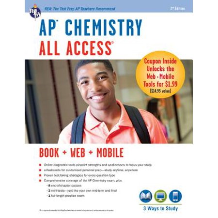 AP Chemistry All Access Book + Online + Mobile -