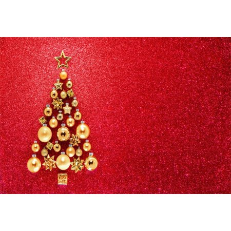 GreenDecor Polyster 7x5ft Christmas Tree Backdrops Xmas Party Decoration Photography Background Girl Infant Toddler Artistic Portrait New Year Photo Shoot Studio Props Video Drop - Halloween Photo Shoot Ideas For Infants