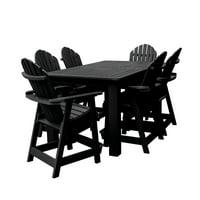 """highwood Hamilton 7pc Rectangular Counter Height Dining Set 72"""" x 42"""""""