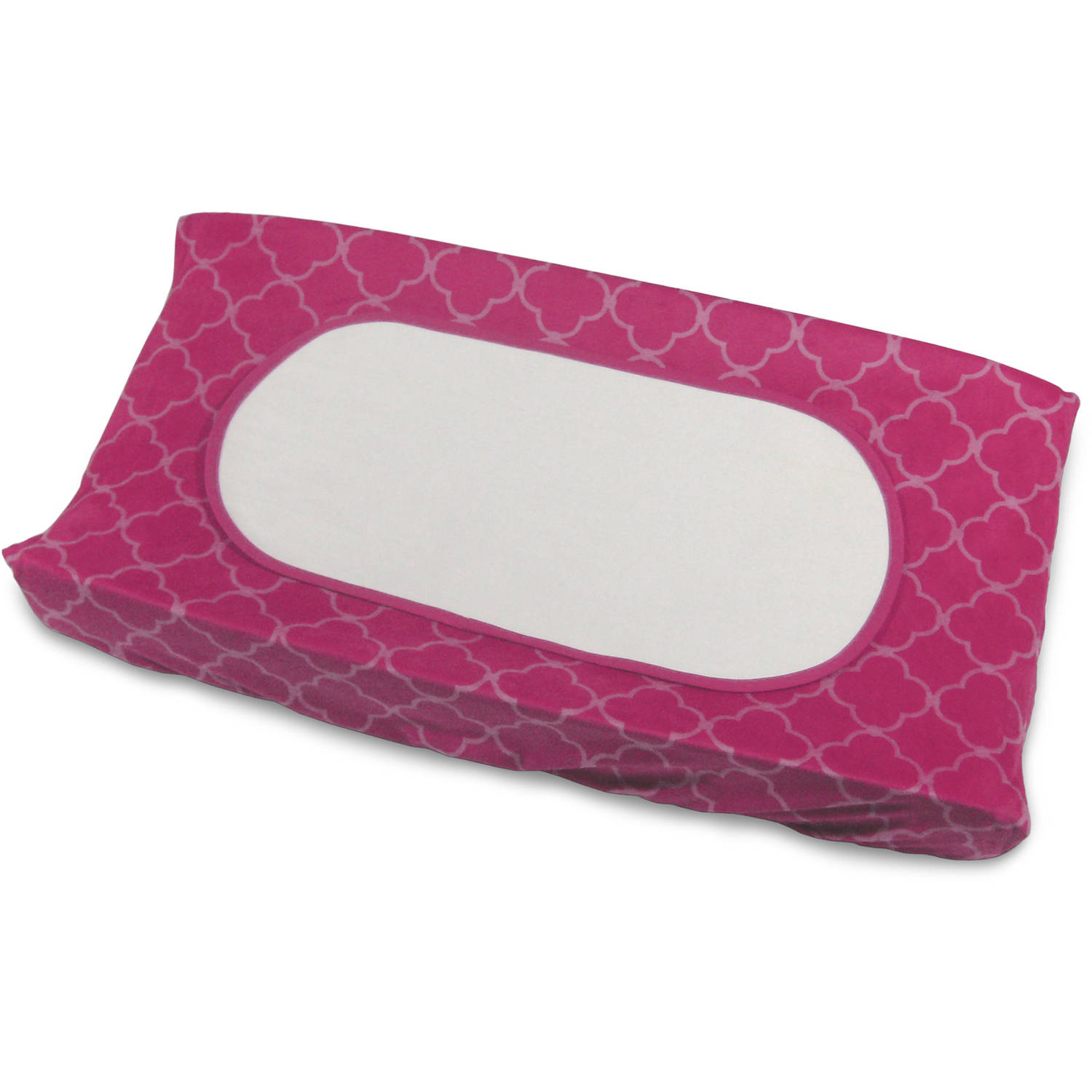 Boppy Changing Pad Set, Raspberry Trellis