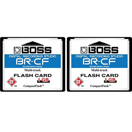 Digital Camera 1gb Card - 2-Pack 1GB Boss Roland BR-CF CompactFlash CF Memory Card for BR-600, BR-864, BR-900CD, MC-808 (2-Pack)