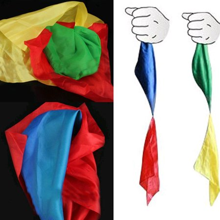 Double Color Changing Hanky Silk Magic Trick Change Great Magic Trick Toy (View Walmart detail page), Double Color Changing Hanky Silk By Nickys Gift (Great Magic Tricks)