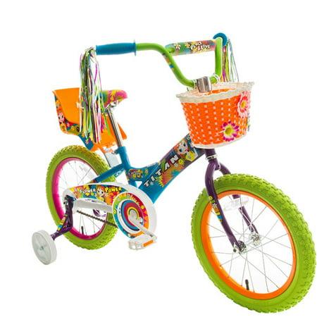 Titan Girl S Flower Power Princess 16 Quot Bmx Bike With