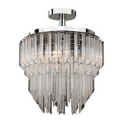 Sterling Industries 144-036 3 Light Semi-Flush Mount Ceiling Fixture