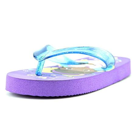 Doc McStuffins Flip Flops Open Toe Synthetic Flip Flop Sandal - Flip Flop Cut Outs