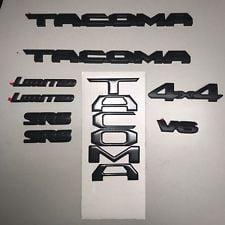 OEM Toyota Tacoma 2018 Blackout Overlay Kit 00016-35850 ()