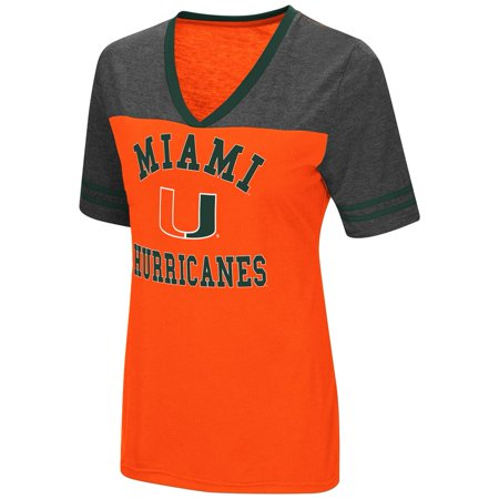 University of Miami Hurricanes Women s S S Tee Colosseum Short Sleeve -  Walmart.com 7f64c59186