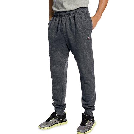 7cf884a62676 Champion - Men s Powerblend Retro Fleece Jogger Pants - Walmart.com