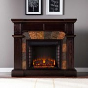 Cypress Electric Fireplace-Espresso