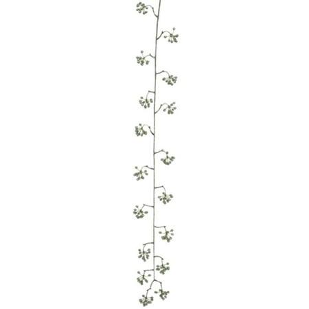 Green Floral Vine - 42