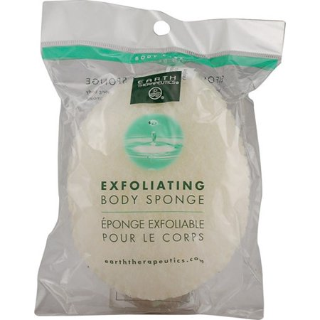 Earth Therapeutics   Exfoliating Body Sponge   Oval  1 Ea