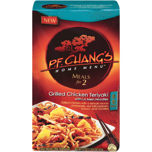 P.F. Chang's Home Menu Meals For 2 Grilled Chicken Teriyaki With Lo Mein Noodles, 22 oz