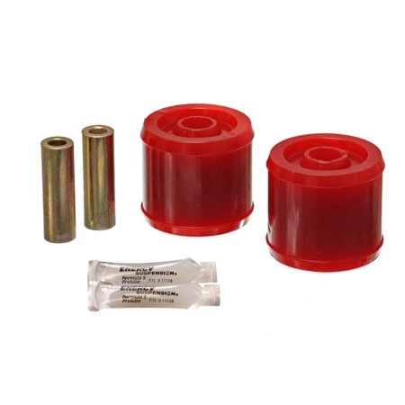Energy Suspension 00-03 Nissan Maxima Red Rear Trailing Arm Bushing Set (Must reuse existing outer (E36 Trailing Arm Bushings)