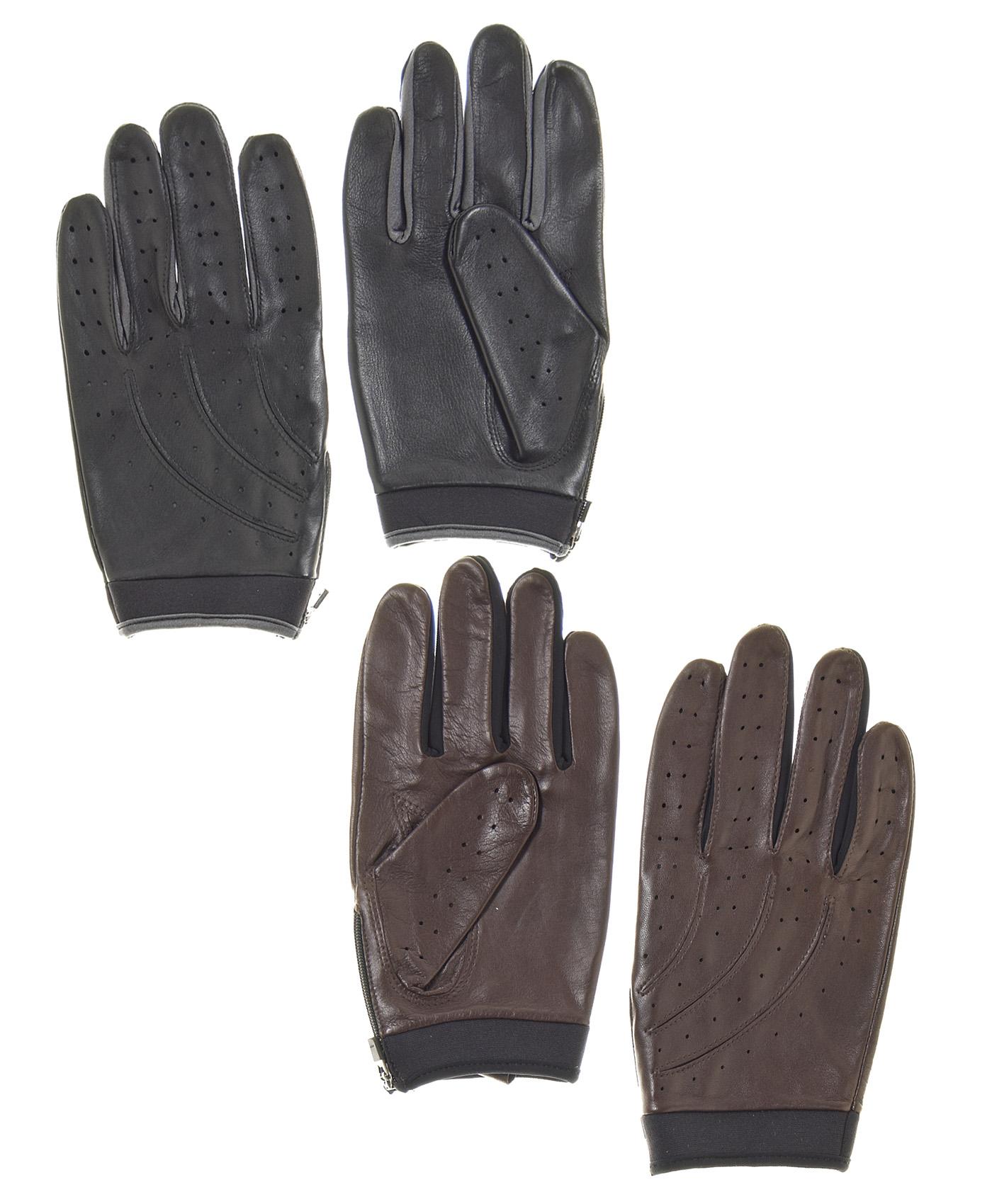 Red leather driving gloves mens - Driving Gloves At Walmart Pratt And Hart Men S Hugger Leather Lycra Driving Gloves
